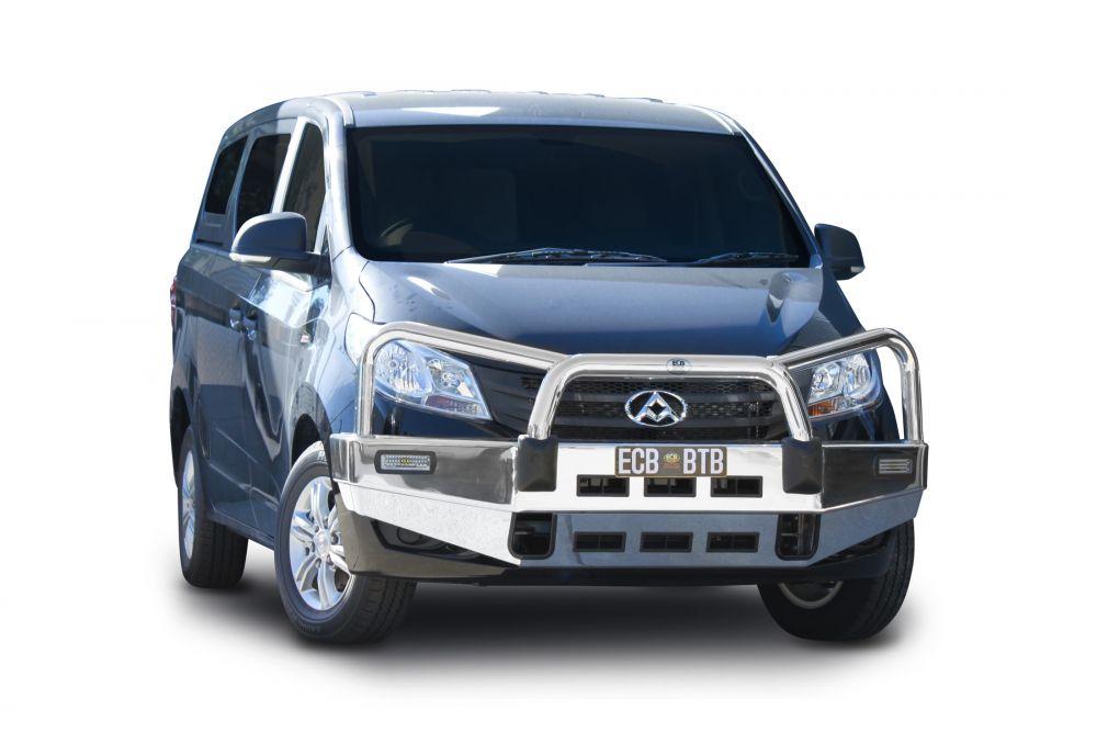Front Protection Bars - Aluminium