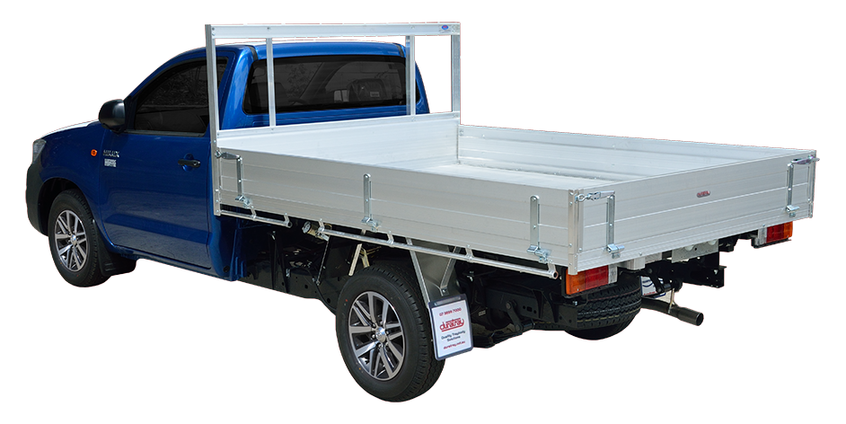 1. Standard Alloy Ute Tray