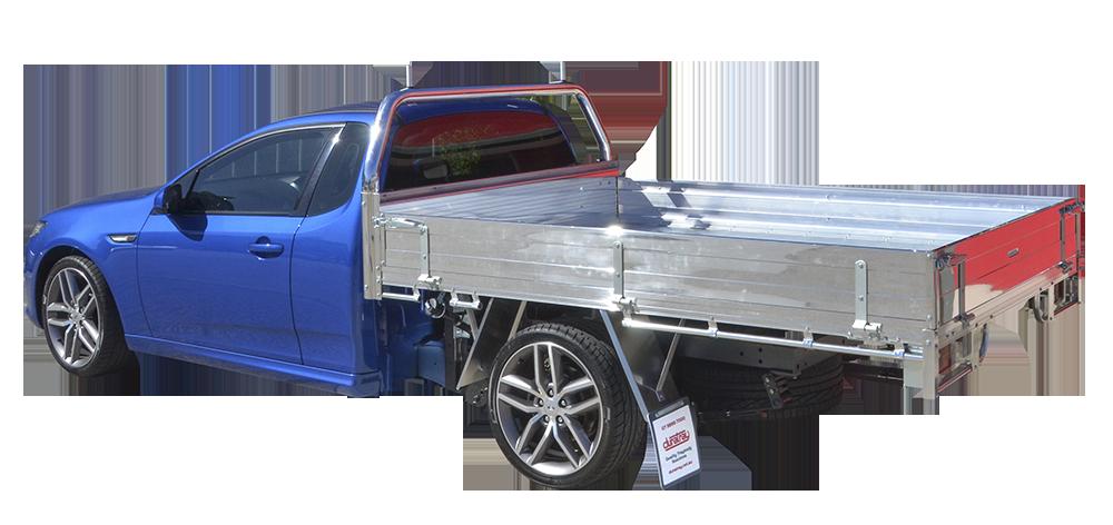 4. Deluxe Aluminium Tray