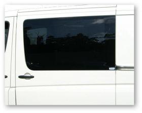 Window-bonded fixed / flush window
