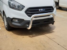 Style 10 Low Nudge bar to suit Ford Transit Custom