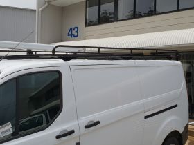 Tradesman Style roof rack to suit Ford Transit Custom