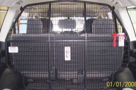 Cargo Barrier Mesh Style - dual position