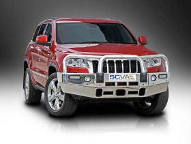 Style 3 Alloy Bullbar - Winch Compatible with Fog Lights
