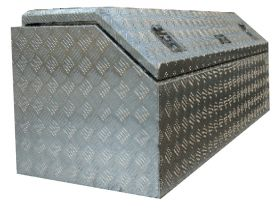 Boxes - On tray Chequer Plate - Workmate
