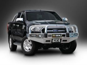 Big Tube ™ Bullbar Winch Bar to suit Ford Ranger PX MKII (07/15 - on) Wildtrak Models