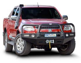 Style 2 Alloy Bullbar - Winch Compatible with Fog Lights