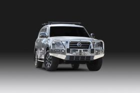 Nissan Patrol MY20 Y62 Series 5 (Ti & Ti-L) - Alloy Bullbar