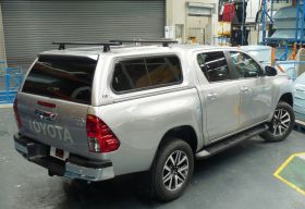 EGR Premium Canopy for 2015 on Toyota Hilux Dual Cab A-Deck
