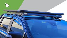 Wedgetail Roof Rack to suit Toyota Hilux Dual Cab 2015 on