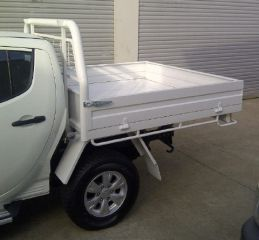 New Steel tray to suit Dual cab utes - Welded Construction