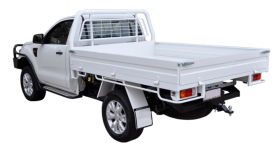 New Steel tray to suit Single cab utes - Welded Construction