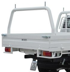 Steel tray - Optional Rear Rack