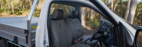 Mazda BT50 Freestyle Canvas Heavy duty seatcover