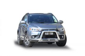 Style 10 Alloy Nudge Bar -  to suit Mitsubishi ASX 08/2017 on