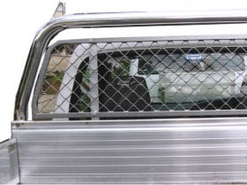 Window Protector - Alloy Mesh