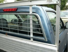 Alloy Tray with Optional mesh window protector