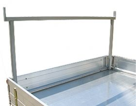 Optional rear removable rack to suit Alloy Ute Tray (corner mount)