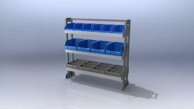 Ute shelving Trade Kit 81