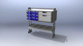 Ute shelving Trade Kit 83