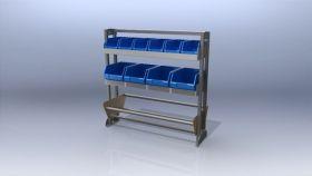 Ute shelving Trade Kit 87