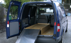 Alloy Ramp Storage